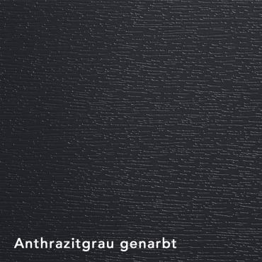 Anthrazitgrau genarbt