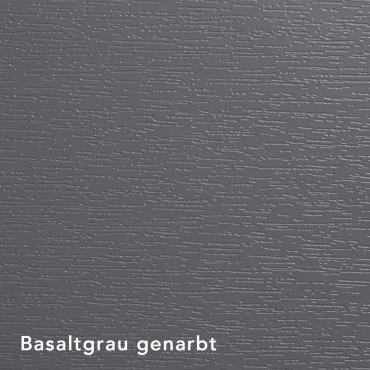 Basaltgrau genarbt