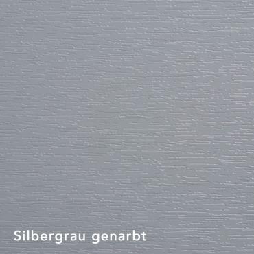 Silbergrau genarbt